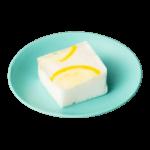 白藍色の波佐見焼の小皿