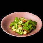 水柿色の波佐見焼の取皿